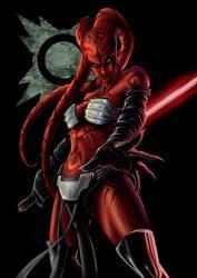 Darth Talon  colored by Yblaidd