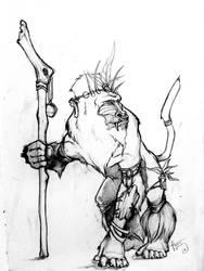 Rafiki Fan art by Yblaidd