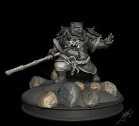 Pandaren warrior by Yblaidd