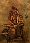 shaman way (color ed) by Yblaidd