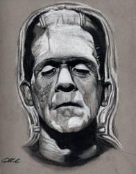 Frankenstein's Monster, 1931 by buriedinadream