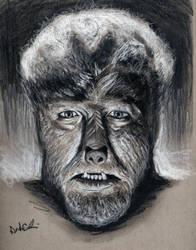 Wolfman, 1941 by buriedinadream