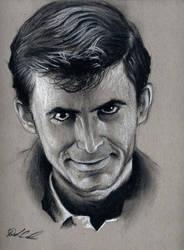 Norman Bates 1960 by buriedinadream