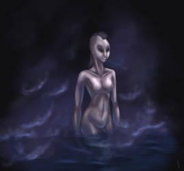 Slaanesh's Daemonette by Soulfein
