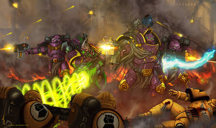 Warhammer: Heresy time by Soulfein