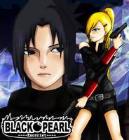 Sasuino Black pearl exorcist by CloveRuka