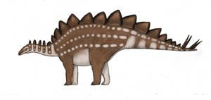 Stegosaurus by Dragonthunders