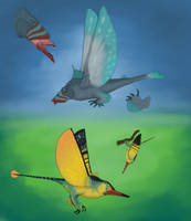 Fishy Flishes by Dragonthunders