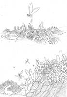 TFIF concept, The Lichen Reef by Dragonthunders