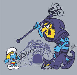 He-Smurf by Italiux