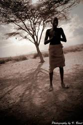 A Wise Samburu tells a story by Solarstones
