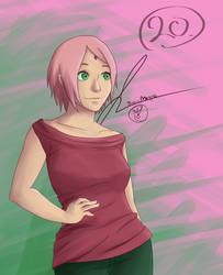 All the Favorites -Naruto #20- Sakura Haruno by JessTalksAlot