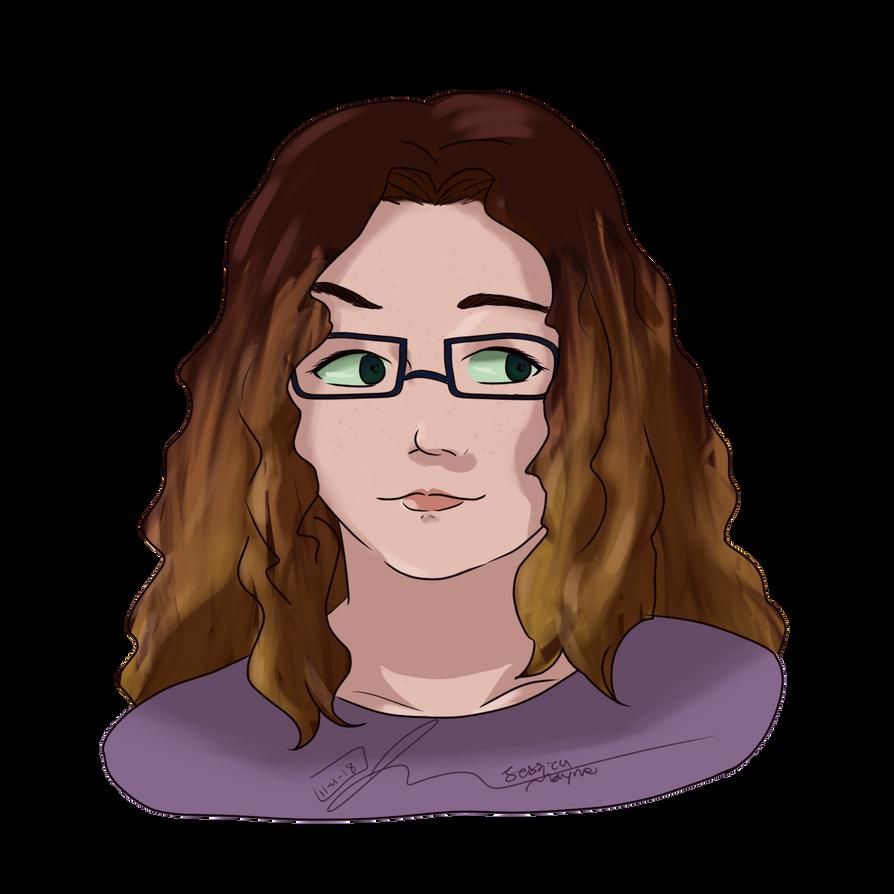 New Self Portrait (Nov 2018) by JessTalksAlot
