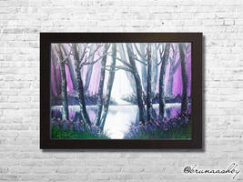 The Purple Forest by brunaashby
