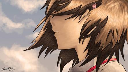 Noe Isurugi - True Tears ~I Miss You~ by SKIGZdoesART