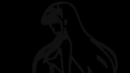 Akame (Akame ga Kill) Line Art by SKIGZdoesART