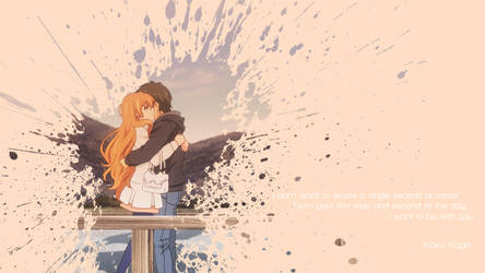 Golden Time - I Want to Be With You (Wallpaper) by SKIGZdoesART