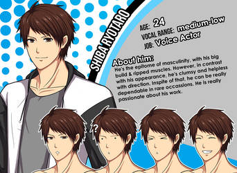 New Character Profile:  Shiba Ryotaro by meyaoigames