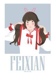 Feixian Portrait by LunaChou