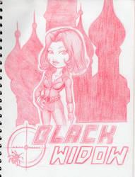 Black Widow by joysuko