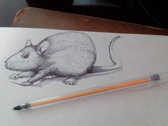Rat Ballpoint by joysuko