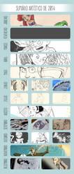 Summary of art 2014 by joysuko