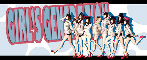 Girl's Generation the Ginie by dutomaster