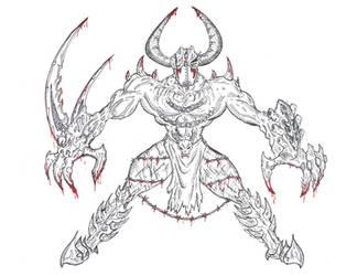 Fantasy demon by cedik