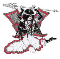 Crimson Witch by cedik