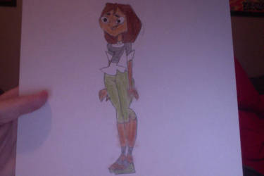 My drawing of Courtney (Total Drama) by SplatCrosser