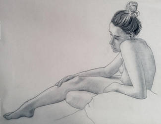 Nude 7 by JeffreyBrandt
