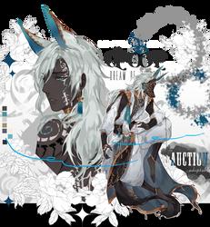 [closed ty!] D.O.M_King of Atlantis Indigo by Skf-Adopt