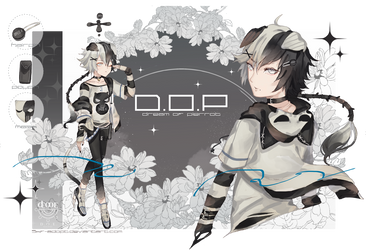 [closed TY!] D.O.P Wonderfilled Oreo by Skf-Adopt