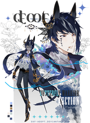 [CLOSED TY!] D.O.P_ButterFly Warrior by Skf-Adopt