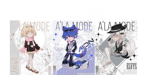 [CLOSED TY!] Skf A'La Mode ''Chibi'' Commission! by Skf-Adopt