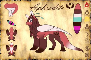 Aphrodite Reference Sheet by Bat-Symphony