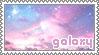 galaxy stamp by hunysushii