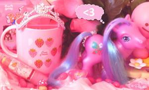 Pink Girl's Happy Wish by Princess-Peachie