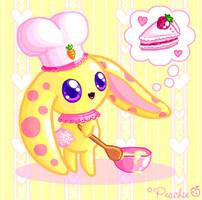 Chef Bunny-Bun by Princess-Peachie