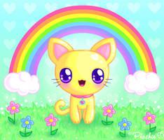 Kitty's Happy Time by Princess-Peachie