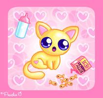 Baby Kitten by Princess-Peachie