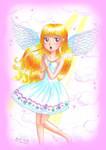 Blush Angel by Princess-Peachie