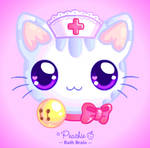 Nurse Kitty Softie by Princess-Peachie