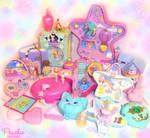 Polly Pocket Fantasy Batch by Princess-Peachie