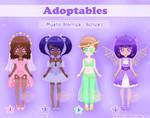 Adoptables - Mystic Starries - Series 1 by Princess-Peachie