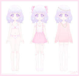 Milky May - Wardrobe by Princess-Peachie