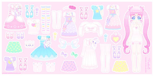Paper Doll Commission - Alice Serenity by Princess-Peachie