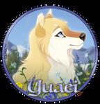 Yuaei Pup Medallion by Tazihound