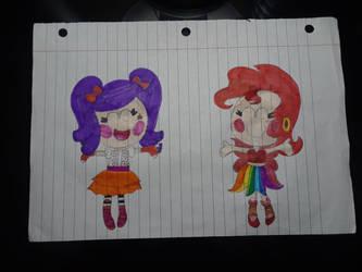 Lalaloopsy: 2 Powerful Girls! by SamanthaBaez21