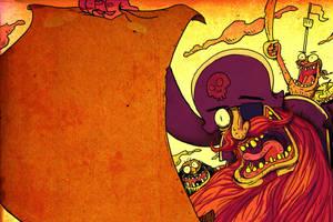Pirate invitation by Devinator200
